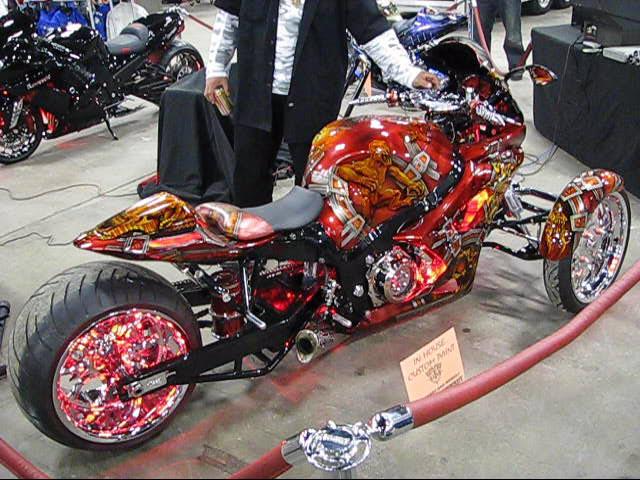 Bagged Converted Trike